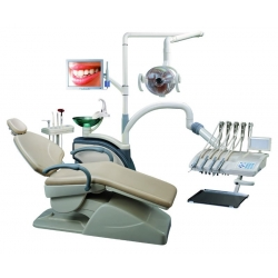 Computer Controlled Dental unit with Monitor