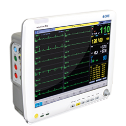 Waveline Pro Touch-Screen Anesthesia Monitor