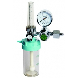 The Oxygen flowmeter with humidifier